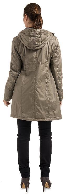 Mantel Noppies 30670Kapuzenicht abnehmbar Damen Jacken Umstandsmode ukiPXZ