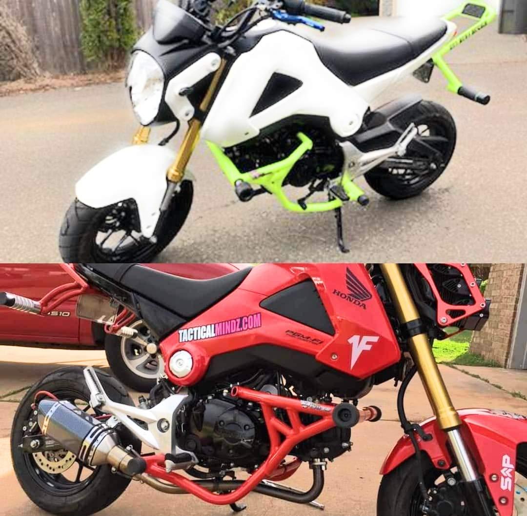 2015 Honda Grom >> 2014 2018 Honda Grom Irx4 Motorcycle Crash Cage