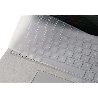 Premium Ultra Thin Keyboard Cover for Microsoft Surface Laptop 2 2018, Surface Laptop 2017, Surface Book 2/1 13.5 and 15 inch, Surface Laptop Accessories(NOT Fit for Surface Laptop 3), US Layout