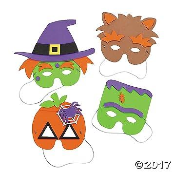 Amazon.com: Halloween Mask Craft Kit - Crafts for Kids & Hats ...