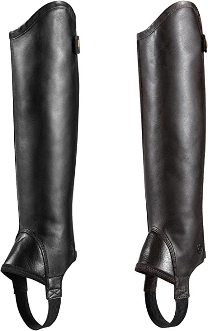 ARIAT Concord Chaps Smooth Black - Easy