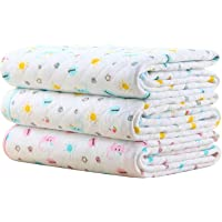 Waterproof Diaper Changing Pads Portable - Breathable Leak Proof Mattress Pad Protector Baby Changing Mats for Toddler…