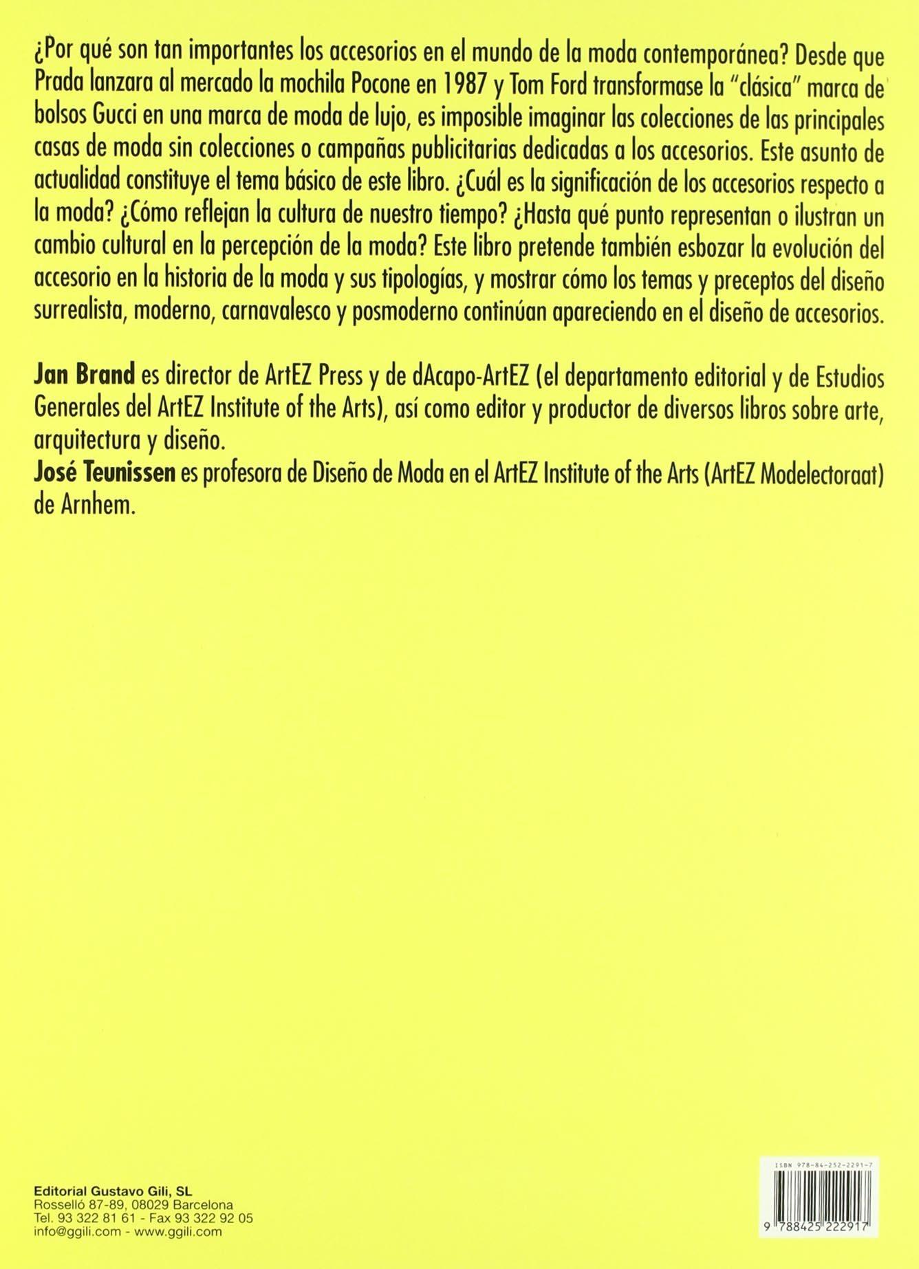 Moda y accesorios (Gg Moda (gustavo Gili)): Amazon.es: Brand, Jan ...