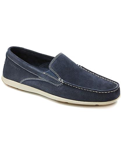 Rockport - Mocasines para hombre azul azul marino: Amazon.es: Zapatos y complementos