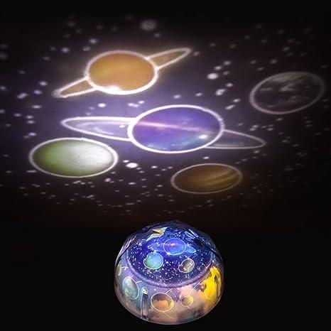 Baby Nachtlicht Einschlafhilfe LED  Projektor Sternenhimmel Kinder Nachtlampe DE