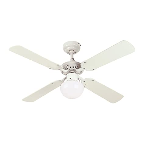 Westinghouse 7813365 princess ambiance 42 inch ceiling fan white westinghouse 7813365 princess ambiance 42 inch ceiling fan white finish aloadofball Image collections