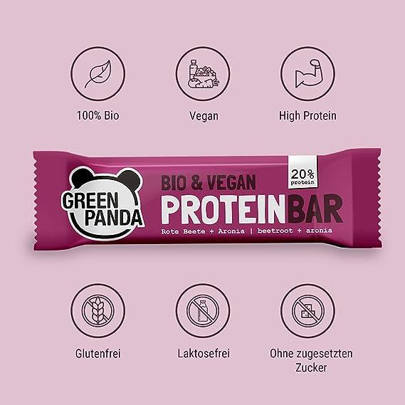 Barritas proteicas veganas sin azúcar, mas del 20% de proteínas vegetales (proteínas de semillas de calabaza, cáñamo y semillas de girasol), 12x30g ...