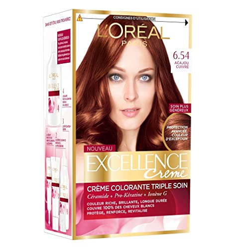 Coloration permanente pour cheveux blancs