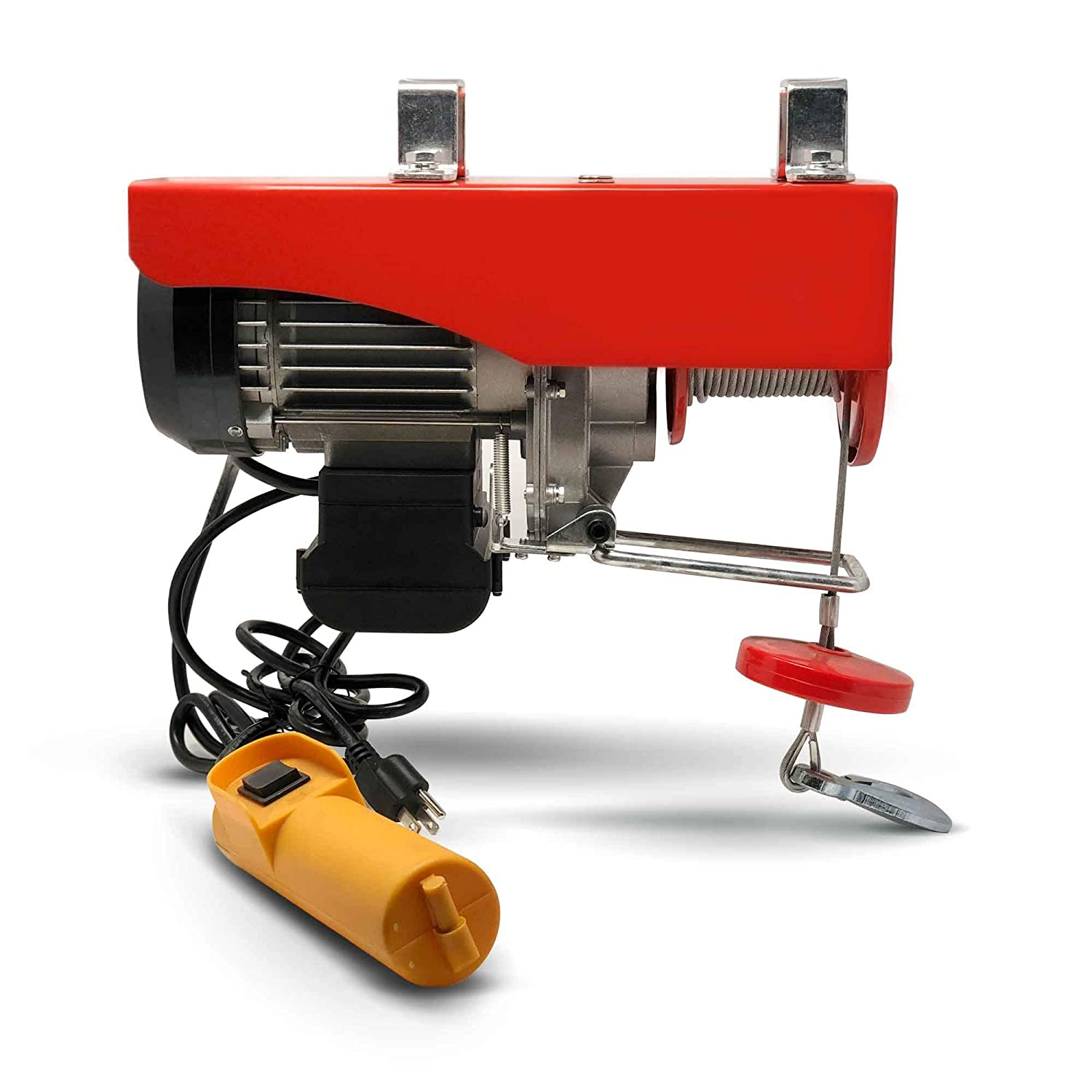 880 Lb Overhead Electric Hoist Crane Lift Garage Winch w/ wired remote 110V- Five Oceans (BC 3781)
