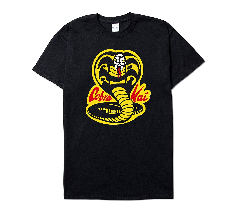 fcbc2646e Cobra Kai Karate Dojo Short Sleeve T-Shirt Sweep The Leg | Amazon.com