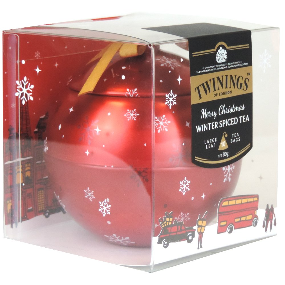 Twinings - Merry Christmas Bauble - Winter Spiced Tea 10 Bags - 30g (Case of 6)