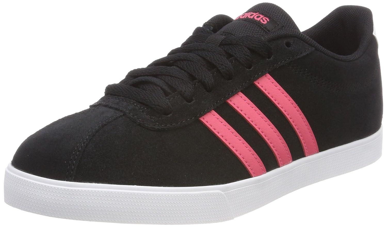 Adidas Courtset, Zapatillas para Mujer 36 EU|Negro (Negbas / Rosrea / Ftwbla 000)