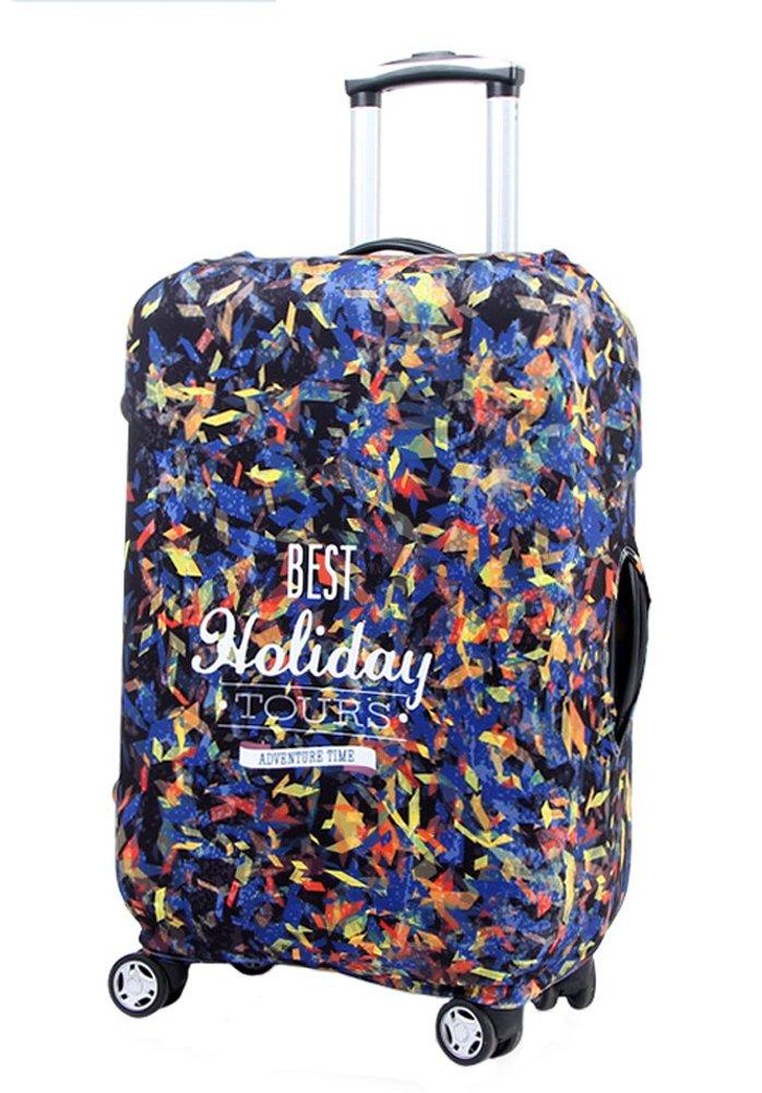 Cubierta de equipaje de viaje lavable Myosotis Protector de maleta divertida de