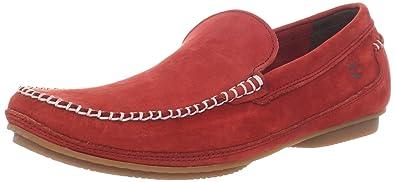 Timberland Mens Auburndale Venetian Slip-On,Red,7 ...