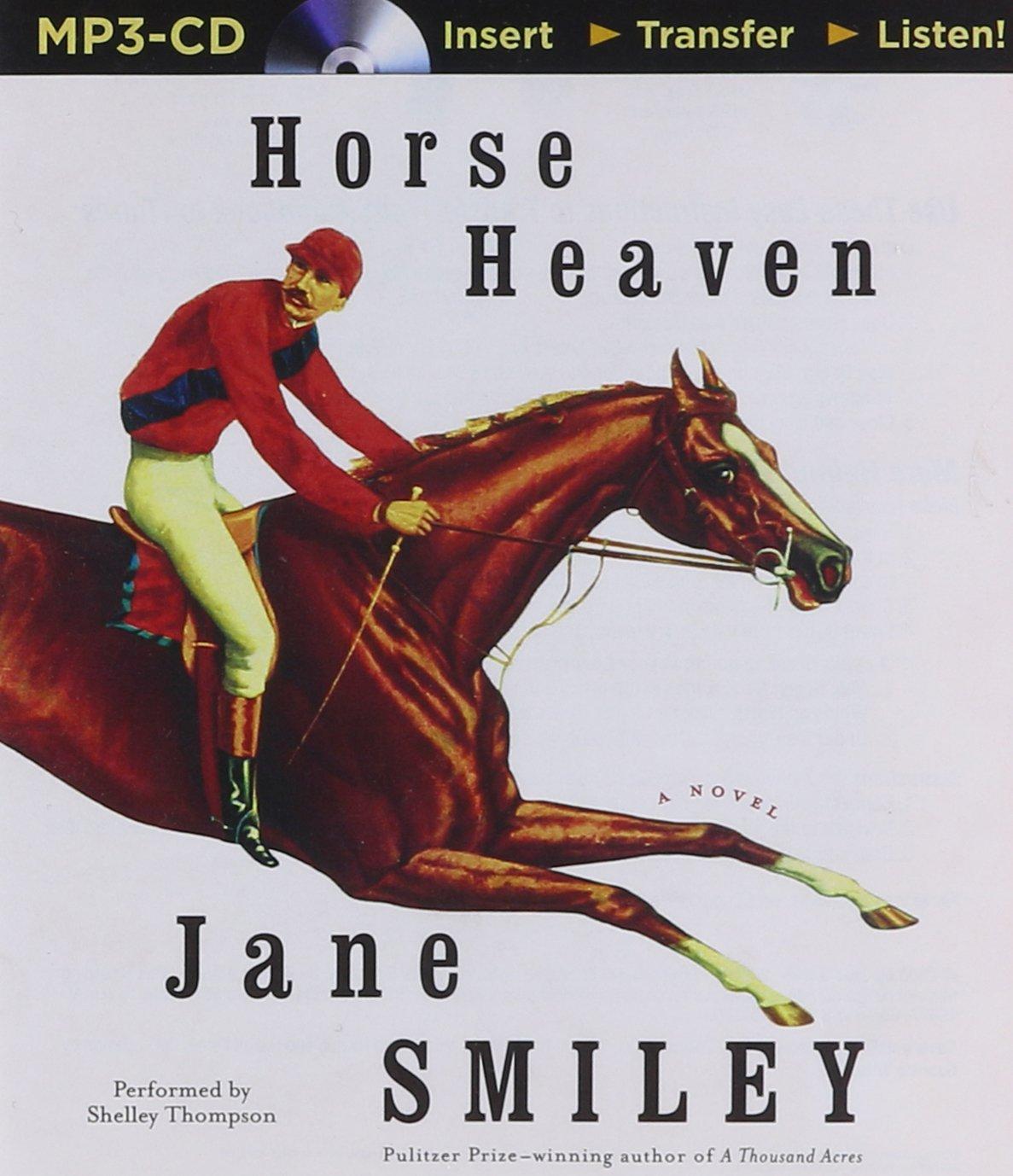 Horse Heaven: Jane Smiley, Shelley Thompson: 9781501200670: Amazon:  Books
