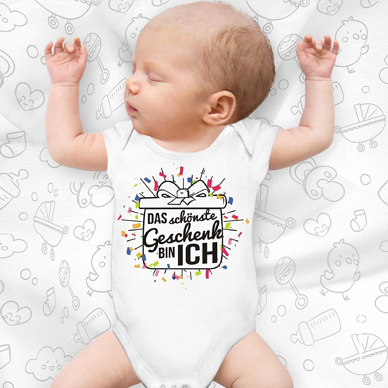 Shirtoo Supers/ü/ßer Baby Body Strampler Das sch/önste Geschenk Bin ich f/ür Jungen und M/ädchen als Geschenk zur Geburt//Erstausstattung