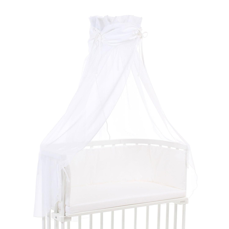Babybay Organic Cotton Canopy, White Babybay_100351