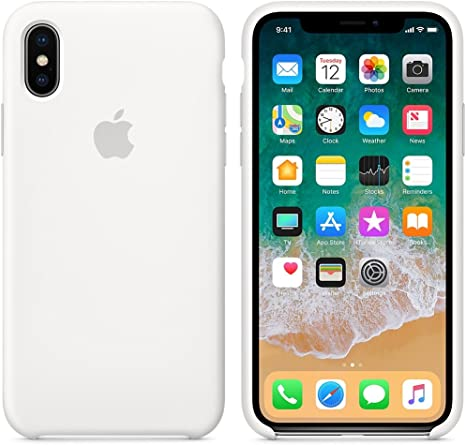 Custodia Iphone X Pelle Anti-caduta Bianco Cover Iphone X