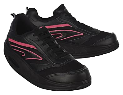 WIN DIRECT SL Fitness Step Neon Rosa Donna, (Black And Pink