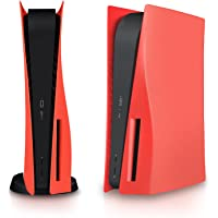 Cover for PS5,ABS Anti-Scratch Waterproof Gaming Console Console Skin Cover for PS5,Replacement Plate Shell for PS5…
