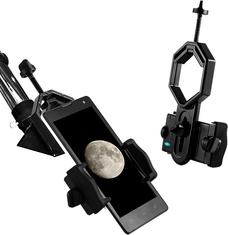 Telescopio soporte de teléfono móvil, universal Smartphone ...