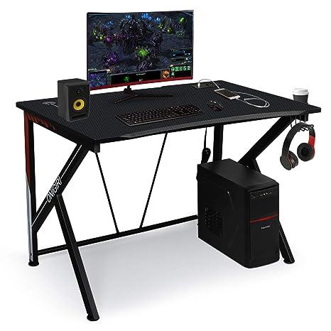 Amazon.com: Mesa de ordenador para juegos de 45.66