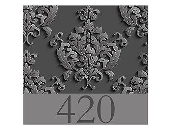 Señaletica Pared Para Hoteles Decorativa 30,00 cm x 28,00 cm Habitación 420 | Decoración Pared | Aluminio 3 mm resistente: Amazon.es: Hogar
