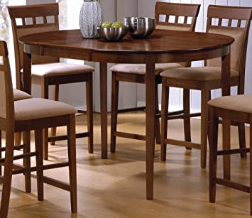 Attirant Oval Counter Height Table By Coaster