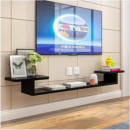 Sala de Reparto de televisión en Rack de TV Box Set Estante Fondo de la Pared viviendo Colgando de TV de Pared del gabinete de Madera del Marco Decorativo contexto de la
