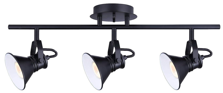 CANARM LTD. IT356A02BPT10 James 電球2個用 トラック照明 3 light B01MTEY9SO 3 light|ブラック ブラック 3 light