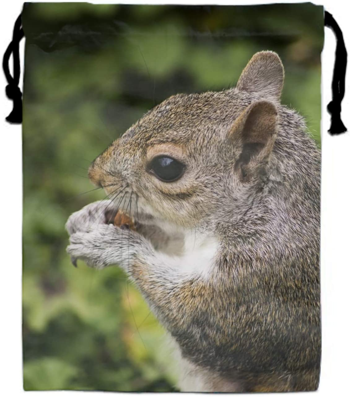 Squirrels In The Trees Drawstring Portable Storage Shoe Outdoor Travel Bag Dustproof Gift Bags