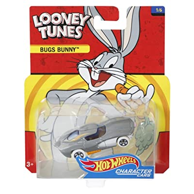Hot Wheels Looney Tunes Bugs Bunny Vehicle: Toys & Games