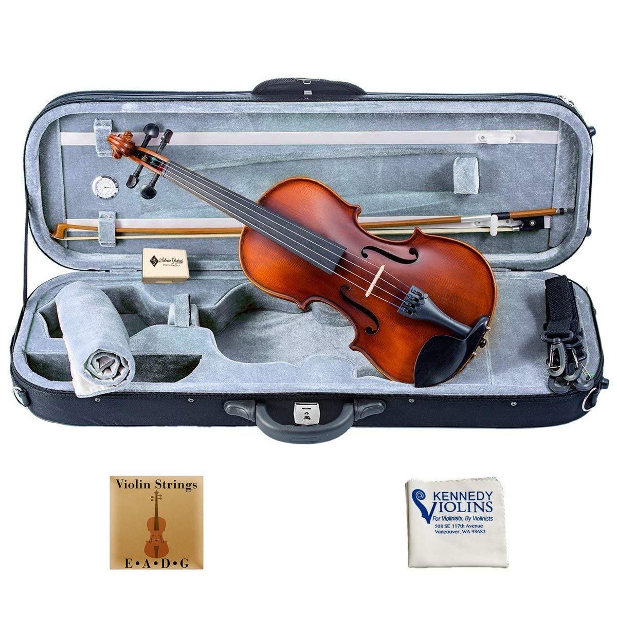 Bunnel Pupil Clearance Student Violin Outfit 1/4 Size RB300