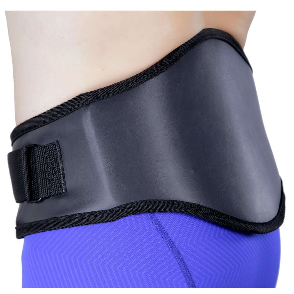 with Orthopedic Lumbar Pad Leatherette XX-Large Back-A-Line MotoSport Kidney Belt