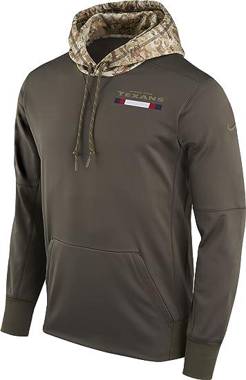a63769b6e38a Amazon.com   NIKE Men s Houston Texan s Salute to Service Sweatshirt ...
