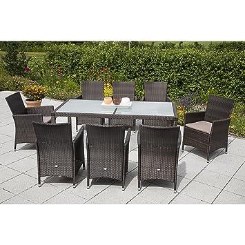 Amazon.de: MERXX Gartenmöbel-Set Pesaro 17-tgl. Sessel inkl ...