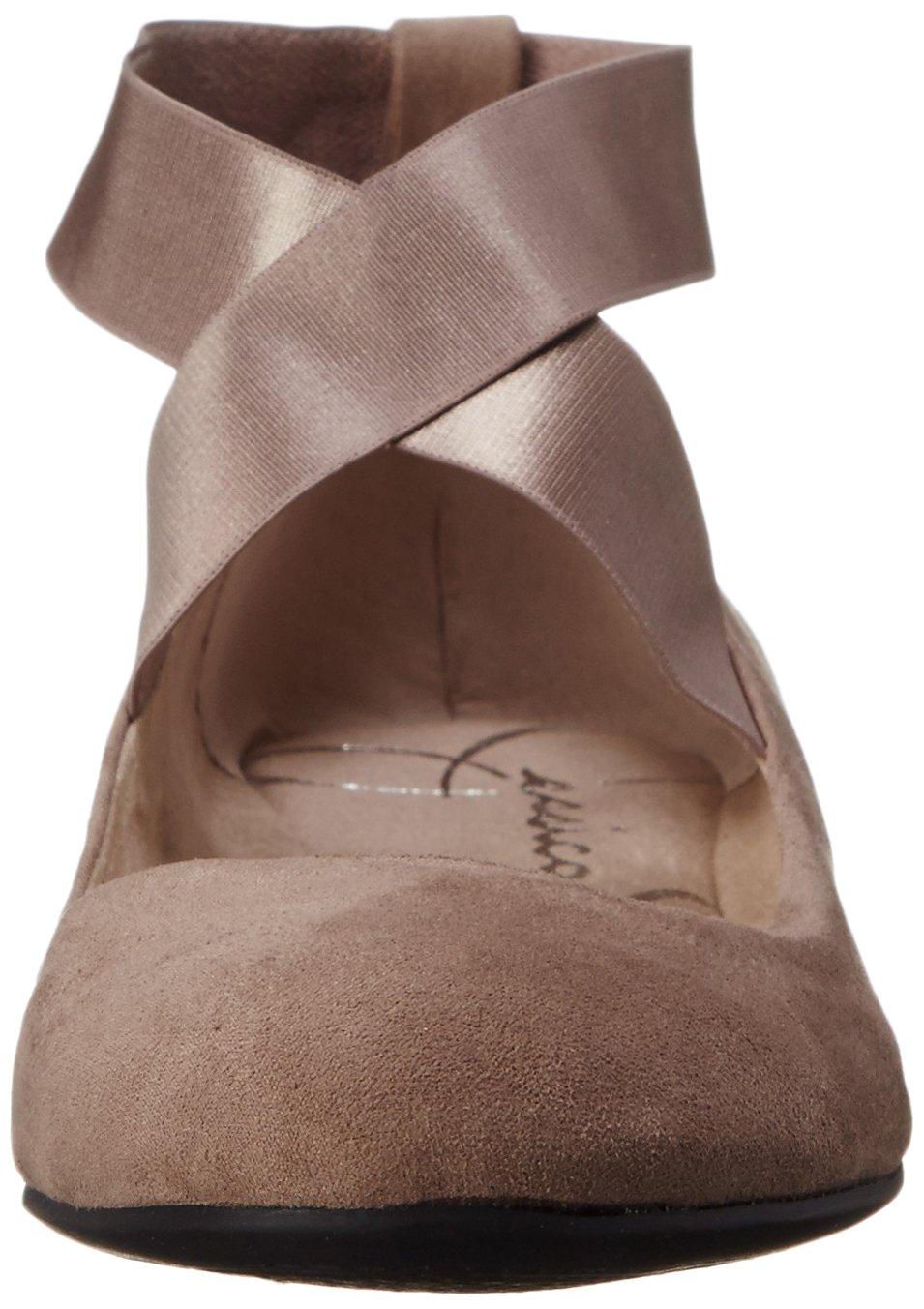 Jessica Simpson Women's Mandayss Ballet Flat B00WGASRH0 9 B(M) US|Slater Taupe