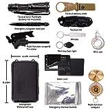 Survival Gear Kits 13 in 1- Outdoor Emergency SOS