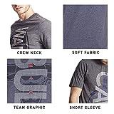 Ultra Game Men's NBA Upright Logo Short Sleeve