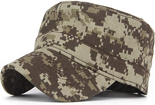 Women Men Baseball Cap Army Camo Hat Military Outdoor Camouflage Adjustable