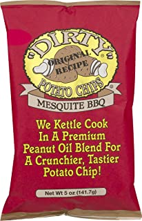 product image for Dirty Brand Potato Chips 5-oz Bags (Pack of 6) (Mesquite BBQ)