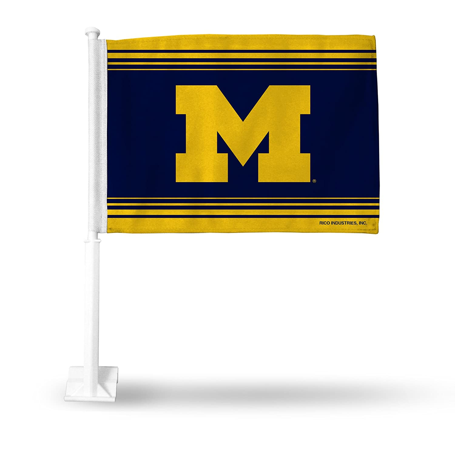 RICO INDUSTRIES NCAA Michigan Wolverines Car Flag FG220006