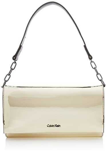 Calvin Klein - Instant Clutch On Chain Metalic, Carteras de ...