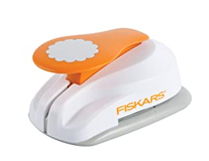 Fiskars 3X-Large Lever Punch, Pretty Scallops