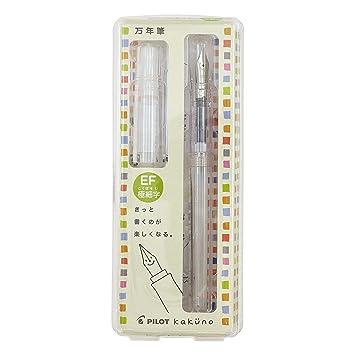 Pilot Kakuno Fountain Pen Extra fine-Nib FKA-1SR EF Kakuno Fountain Pen 5 Type
