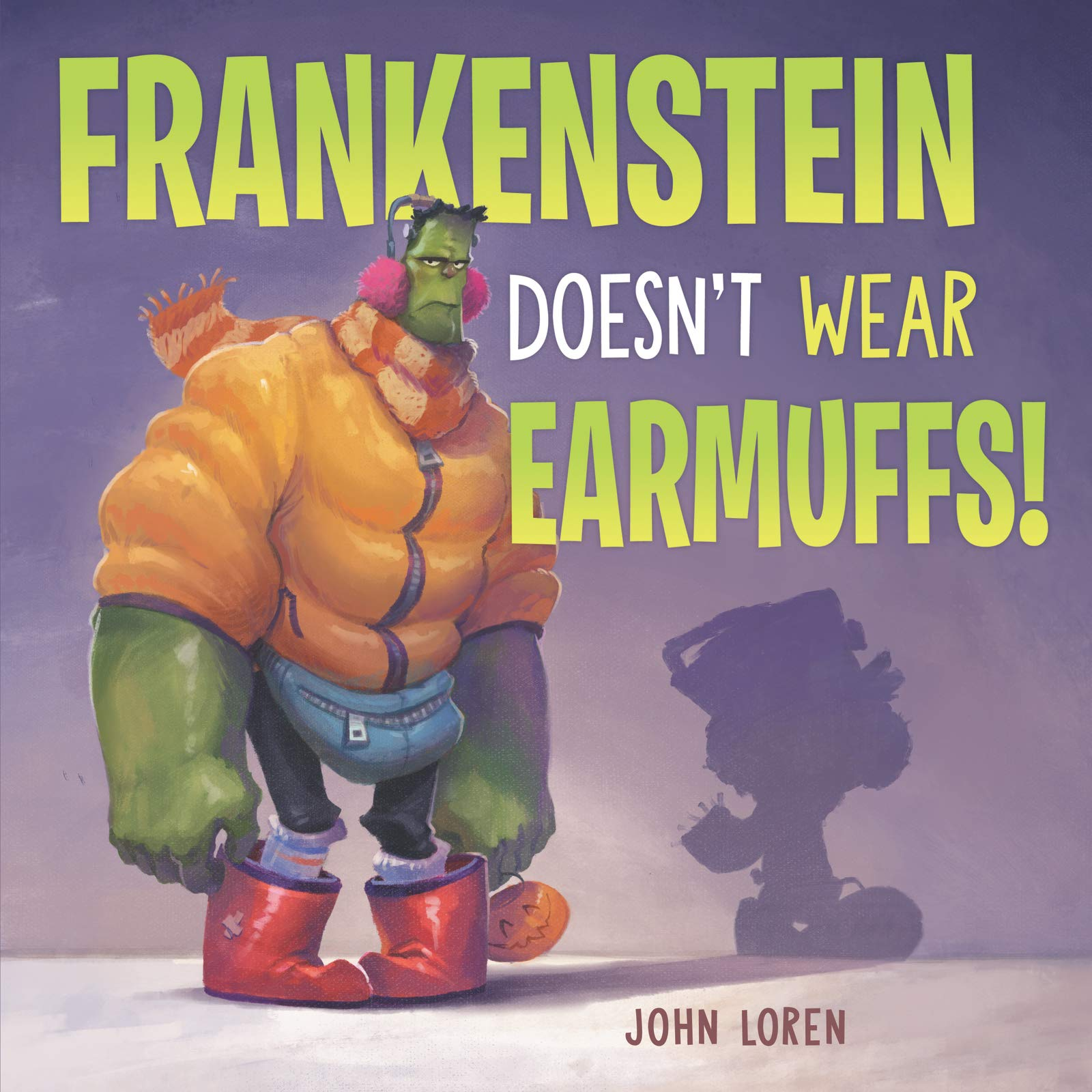 Amazon.com: Frankenstein Doesn't Wear Earmuffs!: 9780062941145: Loren, John, Loren, John: Books