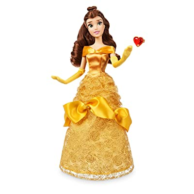 Disney Store Belle Classic Doll with Ring - Beauty and the Beast - 11 1/2'' 2020 Version: Toys & Games