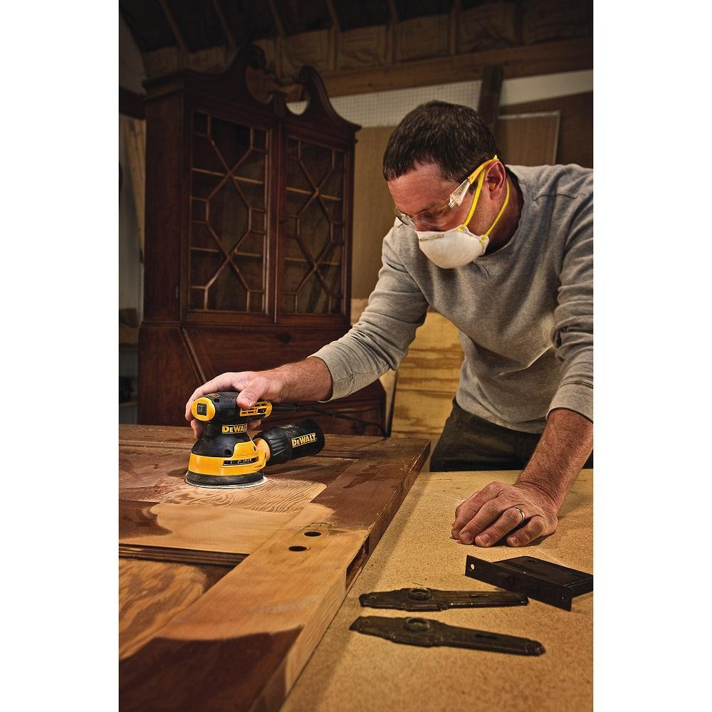 DEWALT DWE6423K Variable Speed Random Orbit Sander, 5''