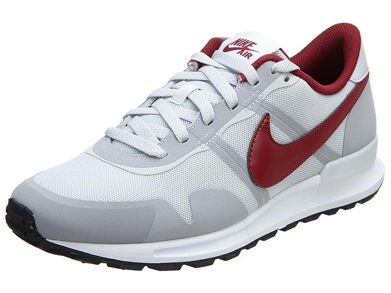 ffc896c8d581 Nike Mens Air Pegasus 83 30 PURE PLATINUM WOLF GREY WHITE TEAM RED ...