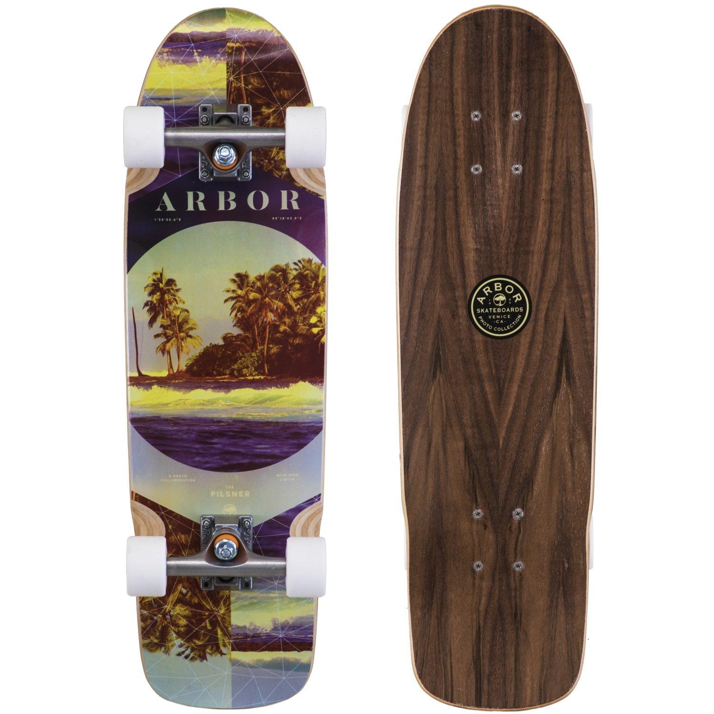 Fireball Arbor x Supply Co. Longboard Skateboards (Various Models) (Pilsner - Photo (28''), Complete)